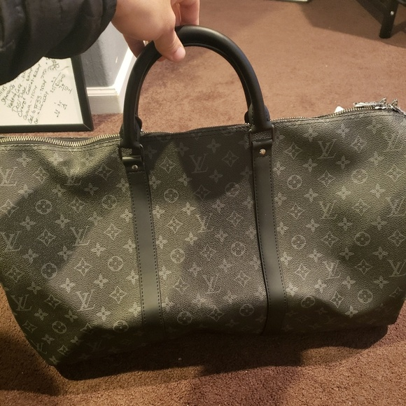 ba0d0ab0b Louis Vuitton Bags | Keepall Bandouliere 55 Eclipse | Poshmark